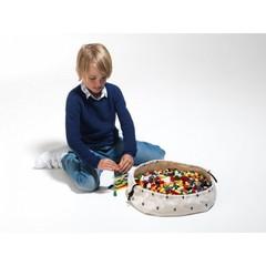 Коврик для игрушек + мешок (2 в 1) Play&Go Mini МОЛНИЯ - 2