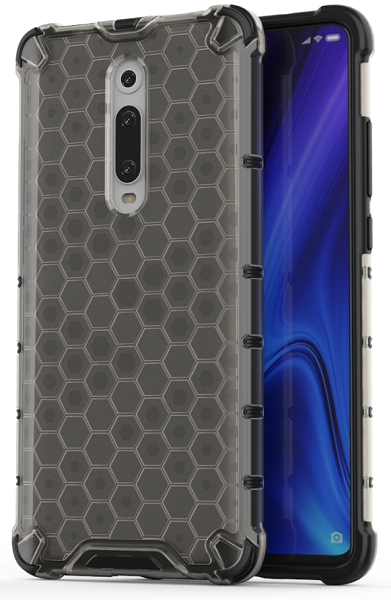 Чехол тонированный на телефон Xiaomi Mi 9T и 9T Pro от Caseport, серия Honey