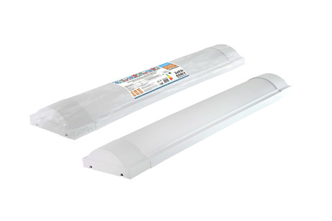 Светодиодный светильник LED ДПО 3017 1800 лм 2х9 Вт, 6500К (термопак) Народный