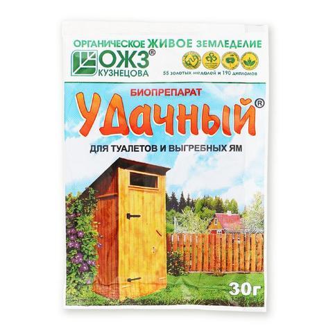 Удачный Биопрепарат для туалетов и выгреб. ям 30г