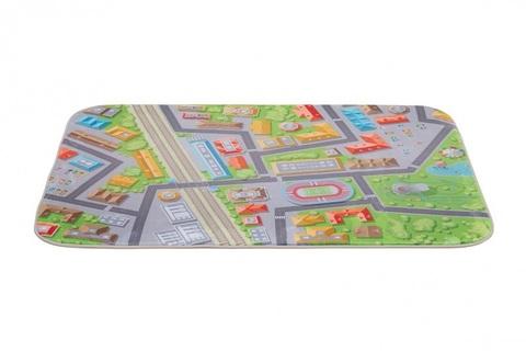 Плюшевый коврик 140х200 см Город