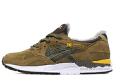 Кроссовки Мужские Asics GEL LYTE V Brown White Yellow С Мехом