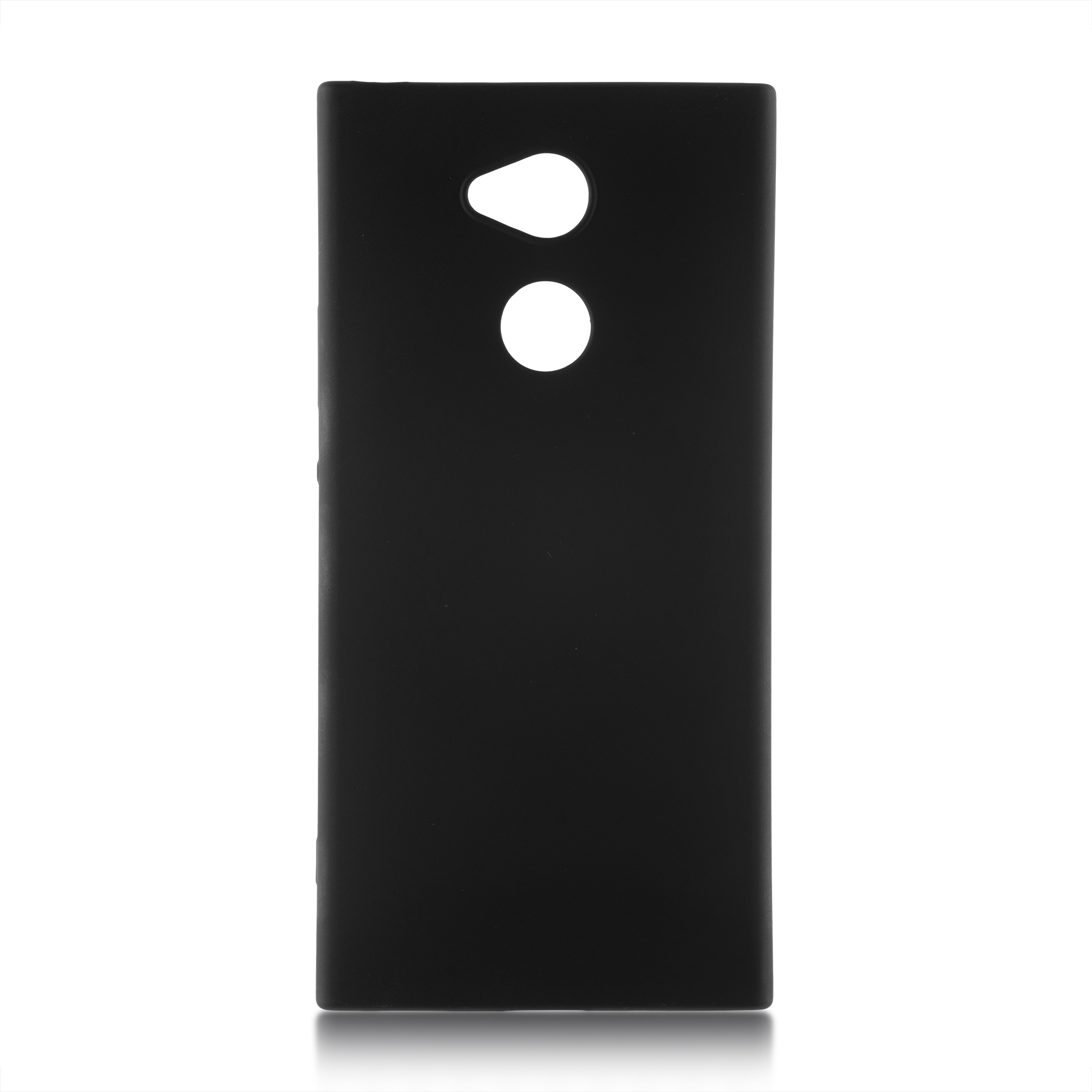 Пластиковый бампер чёрного цвета для Xperia XA2 Plus