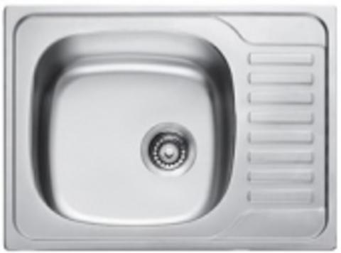 Кухонная мойка врезная из нержавеющей стали Kaiser KSS-6550 L (левая)