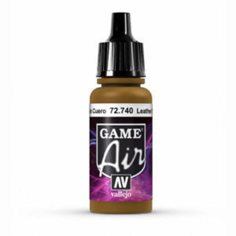 Game Air Leather Brown 17 ml.