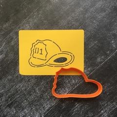 Каска №1 пожарная
