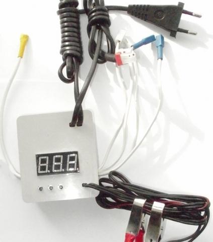 Терморегулятор цифровой автомат 220В/12В №11