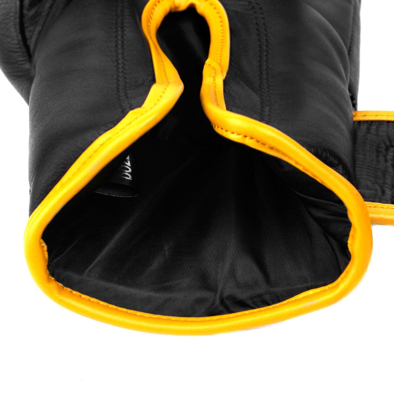 Перчатки Dozen Monochrome Black/Yellow подкладка