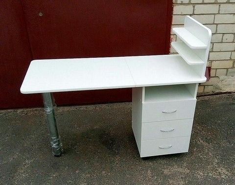 Маникюрный стол (цвет белый)