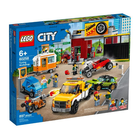 Lego konstruktor  Tuning Workshop