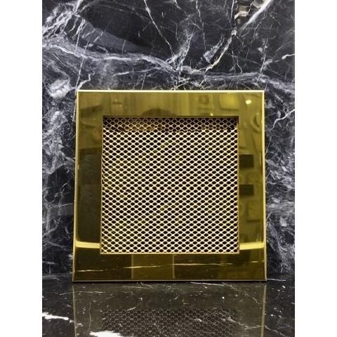 Решетка стальная на магнитах РП-170 сетка, золотая нержавейка