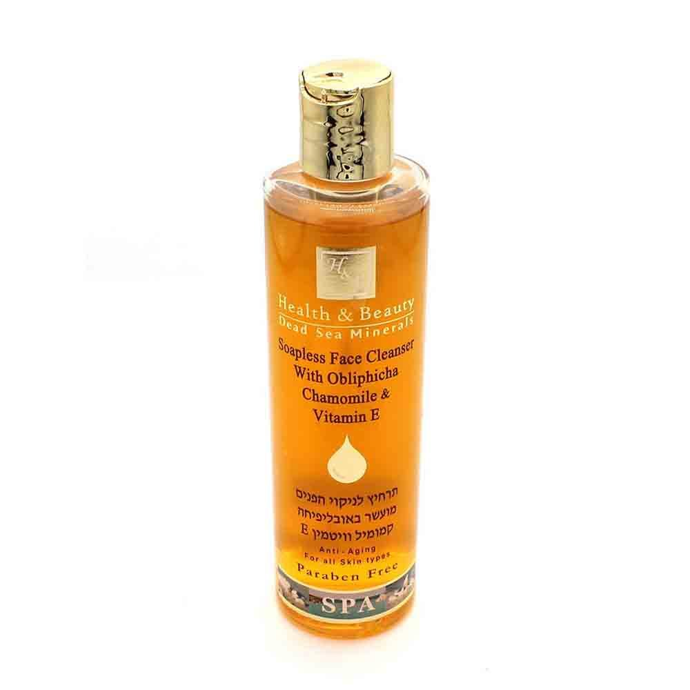 Гель очищающий для лица Soapless Face Cleanser with Obliphicha Chamomile & Vitamin E