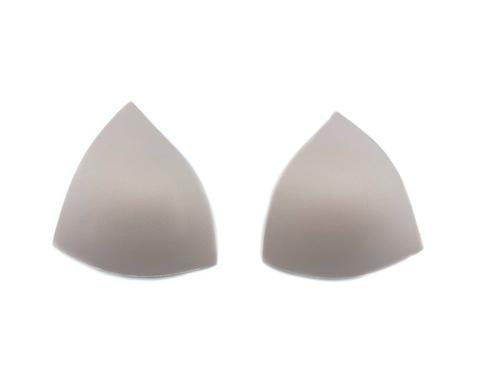 Чашки треугольники серебристый пион (70В-75А-65С)