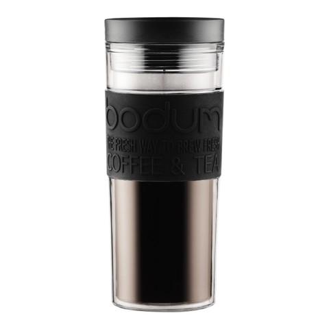 Кружка дорожная Bodum Travel (0,45 литра), черная
