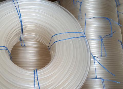 Шланг Ø 14 мм толщина стенки 2 мм силиконовый прозрачный