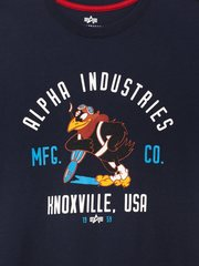 Футболка Alpha Industries JAYHAWK (Синяя)