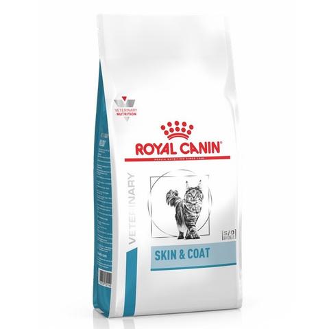 Royal Canin Skin & Coat сухой корм для стерилизованных кошек с чувствительной кожей и шерстью, 1,5кг