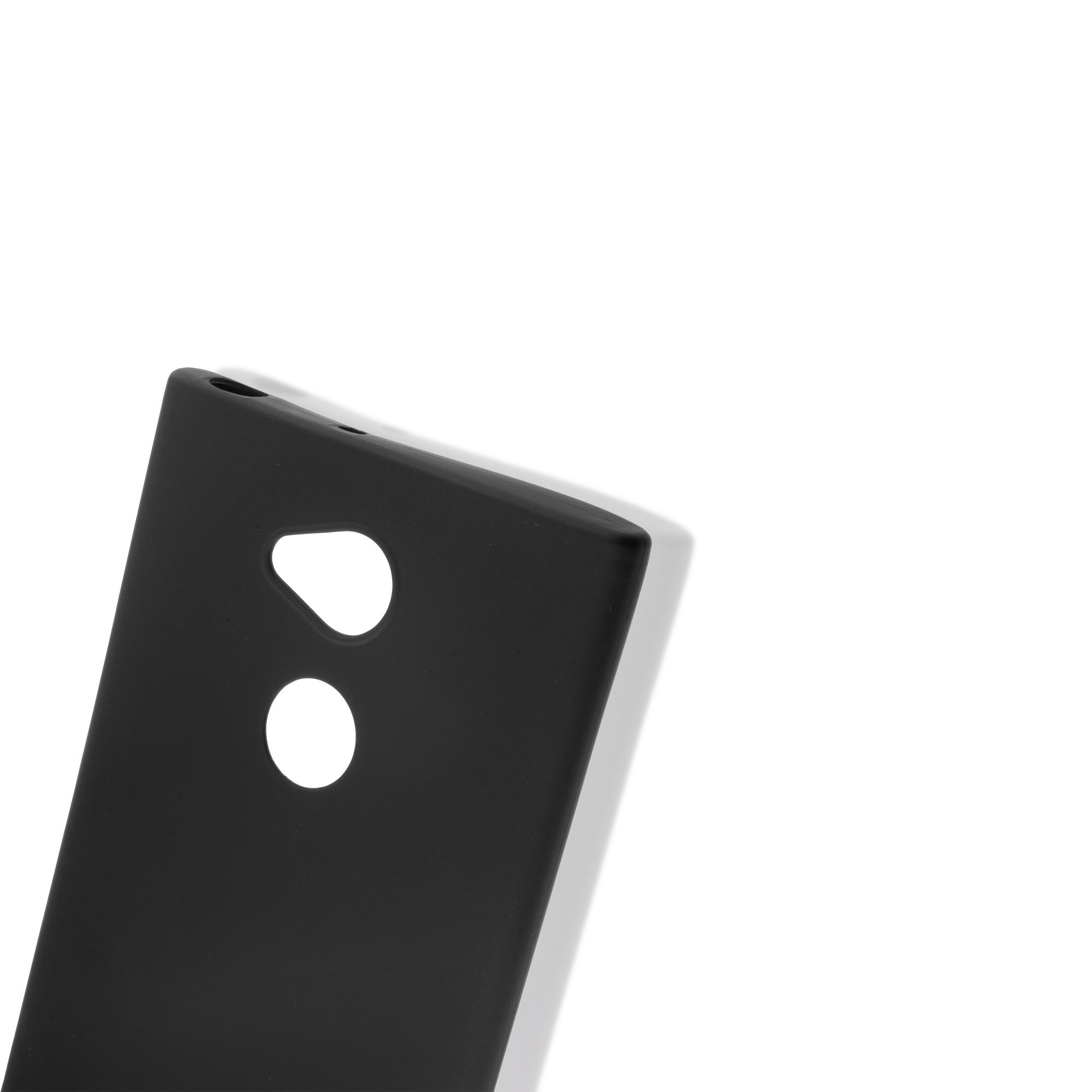 Brosco XA2 Plus / Накладка пластик всесторонняя, черная