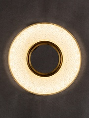 Встраиваемый светильник GP-8121-9W-GO Золото+Диодная подсветка