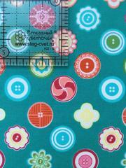Ткань для пэчворка, хлопок 100% (арт. BE0101)