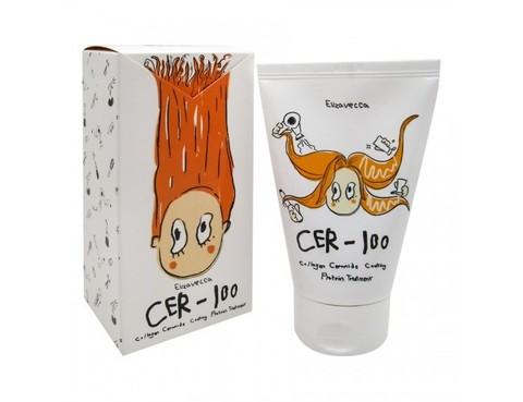 Elizavecca Маска для восстановления волос с коллагеном CER-100 Collagen Ceramid Coating Protein Treatment 100 мл.