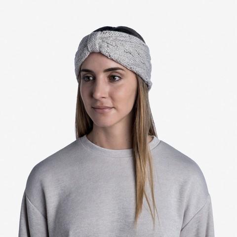 Вязаная повязка на голову Buff Headband Knitted Caryn Cru фото 2