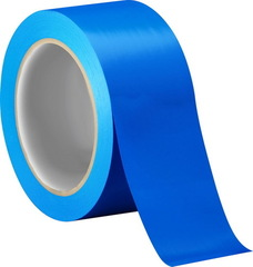 Скотч цветной (синий) 150м.