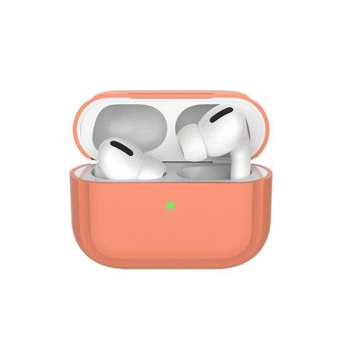 Чехол силиконовый для AirPods Pro Case Protection ультратонкий Розовый песок