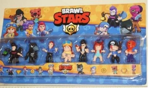 Brawl Stars Набор 8 шт фигурки 7 см