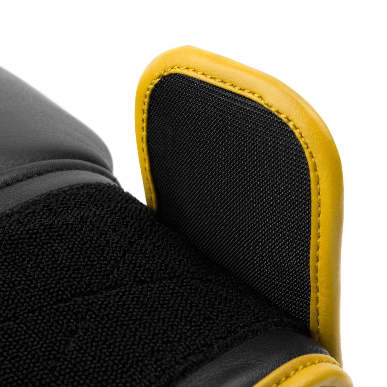 Перчатки Dozen Monochrome Black/Yellow липучка крючки