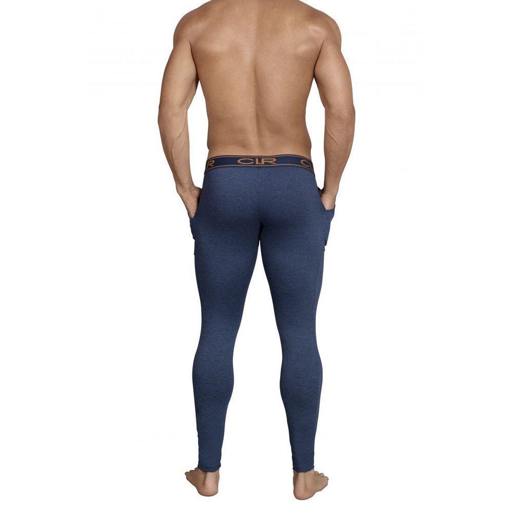 Мужские кальсоны синие Clever Cale Long Pant 031708