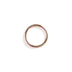 Кольцо золотистое 26 мм (металл)