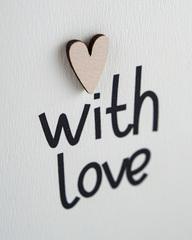 Открытка «С любовью» 9,5×13,3 см
