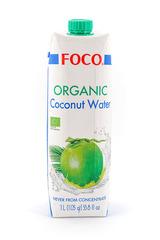 FOCO, Органическая кокосовая вода, 1000мл