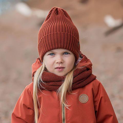 Beanie hat - Paprika