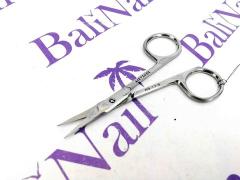 Ногтевые ножницы (блестящие) - прямые