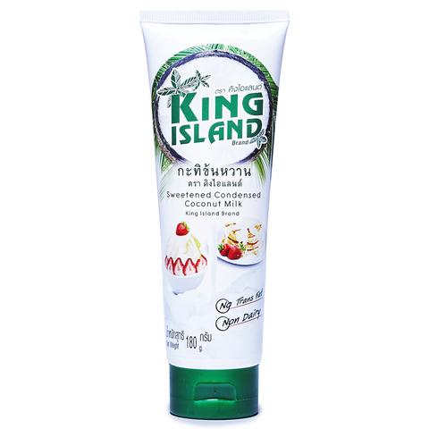 Молоко кокосовое сгущеное KING ISLAND, 180г