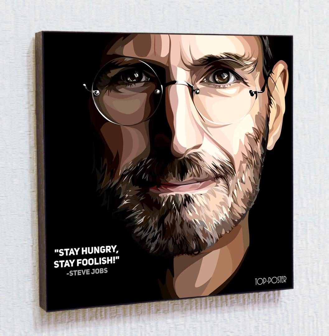 Стив Джобс картина поп арт