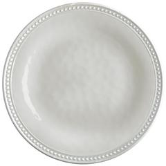 Melamine Dessert Plate, Harmony Pearl, 6 Pcs