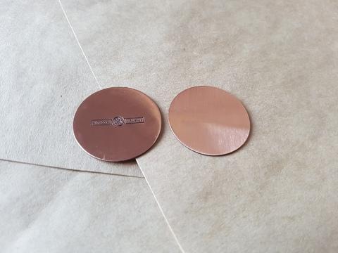 Пятак медный Лечебный - регулятор обменных процессов, 30 мм, медь