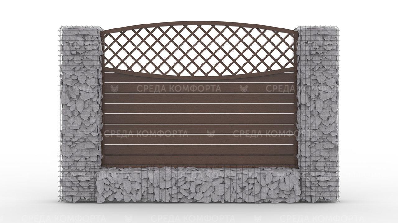 Деревянный забор ZBR0094
