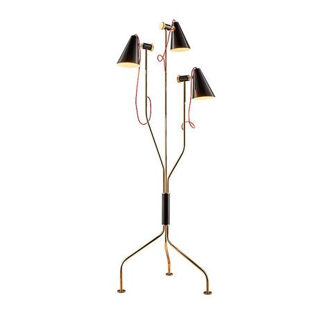 Напольный светильник копия Evans by Delightfull (черный)