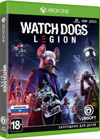 Watch Dogs: Legion (Xbox One/Series X, русская версия)