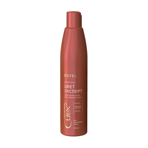 Шампунь Поддержание цвета для окрашенных волос CUREX COLOR SAVE, 300 мл