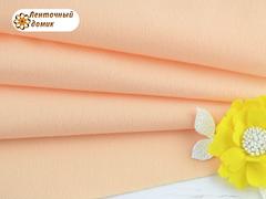 Фетр мягкий корейский персиковый RN27