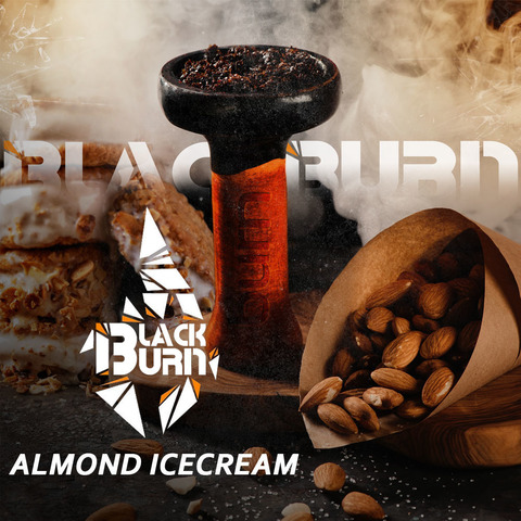 Табак Burn BLACK 25 г Almond Icecream