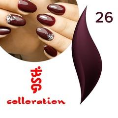BSG Colloration, №26 Темный фиолетово-бордовый оттенок