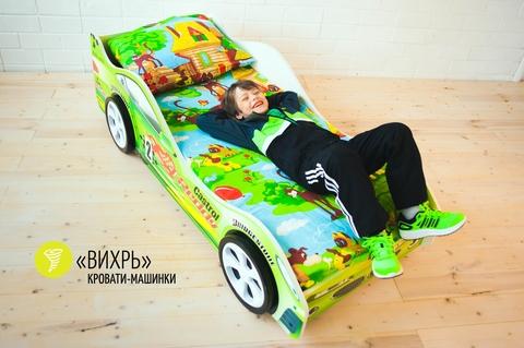 Кровать машина Вихрь