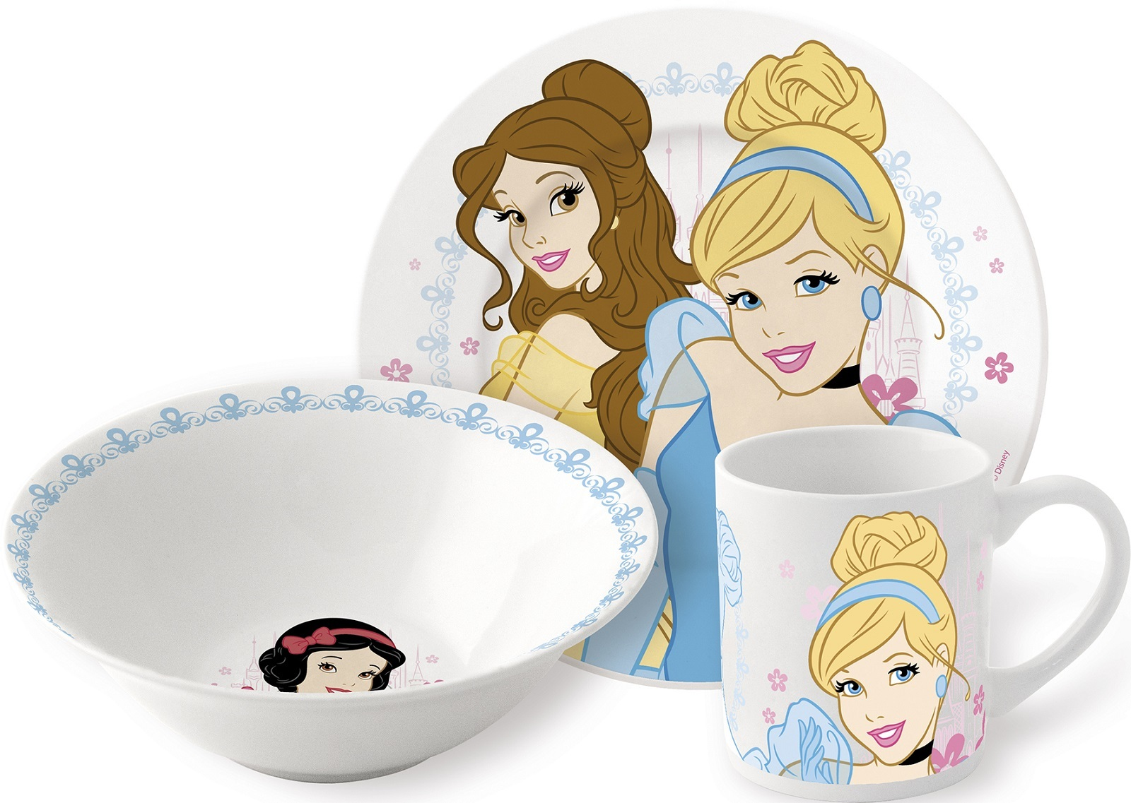 Принцесса Диснея Набор керамической посуды — Posuda Disney