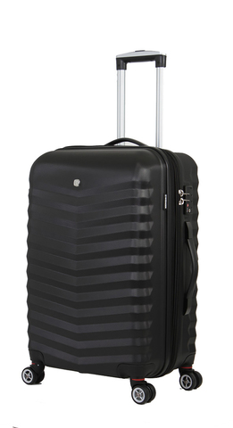 Чемодан WENGER FRIBOURG, цвет черный, 38x28x60 см, 64 л  (SW32300267)